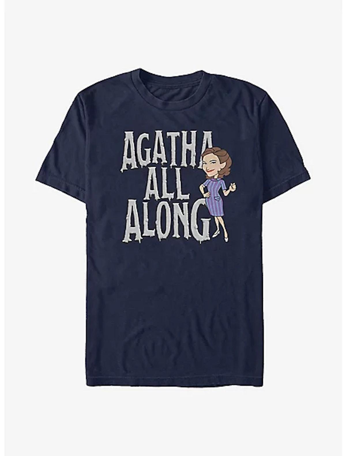 Box Lunch Marvel WandaVision Agatha All Along T-Shirt