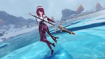 Rosaria Weapon Genshin Impact