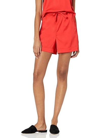 The Drop Silky Stretch Pull-On Loose-Fit Short