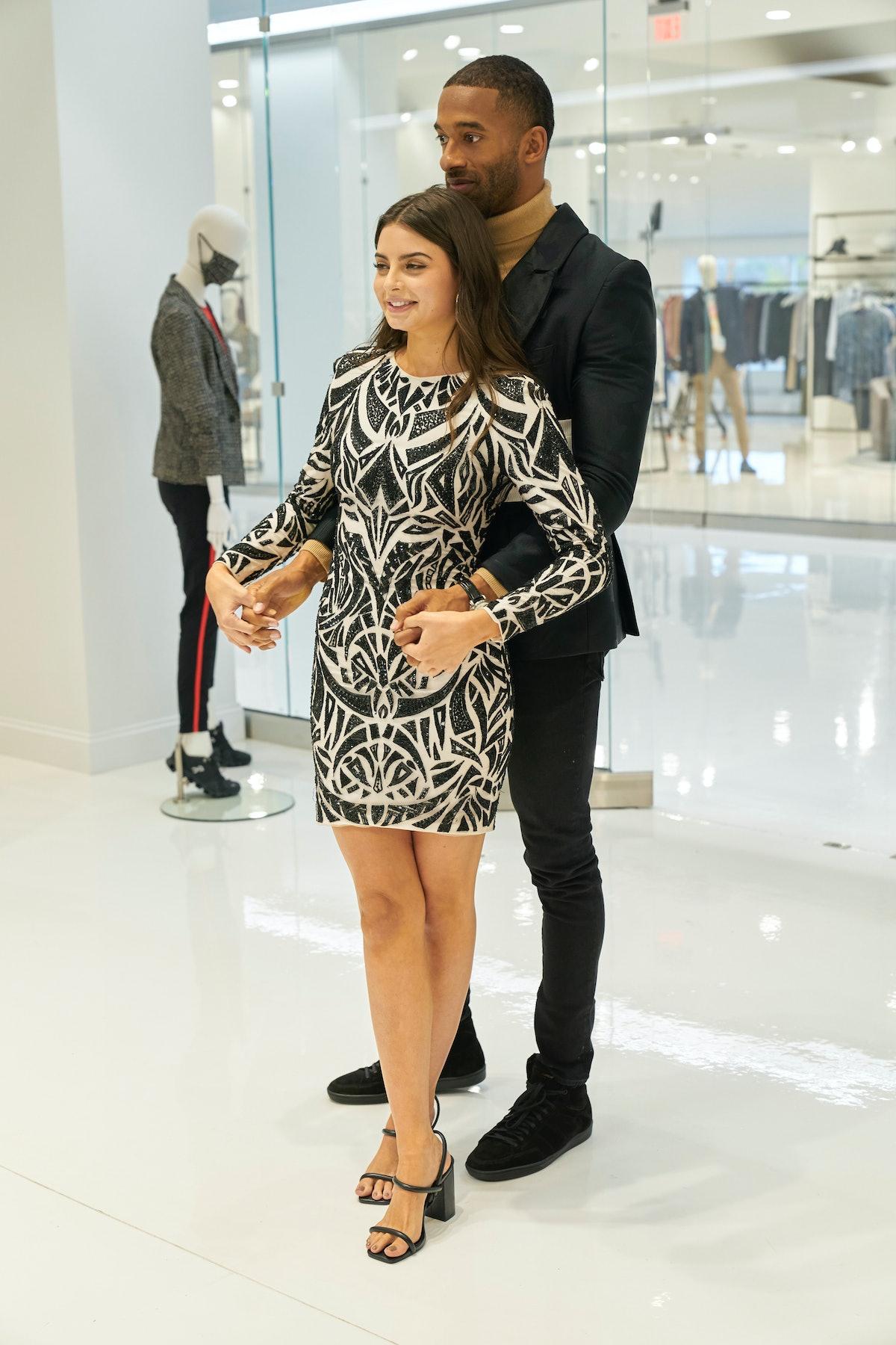 Matt James and Rachael Kirkconnell in 'The Bachelor.'