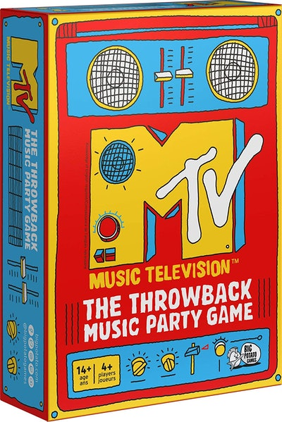 Big Potato Games MTV Game The Throwback Music Party Board Game