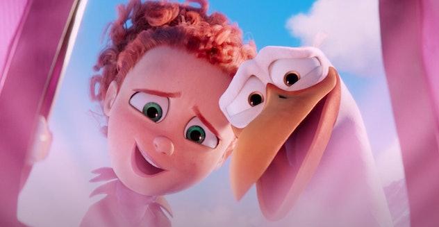 'Storks' is streaming on Hulu.
