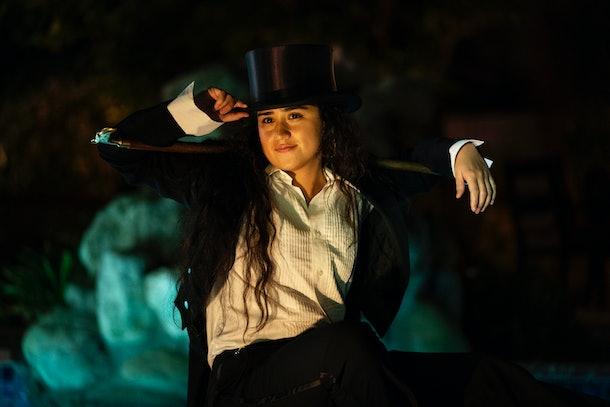 Haley Sanchez as Greta in Generation.