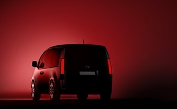 Hyundai Staria rear view