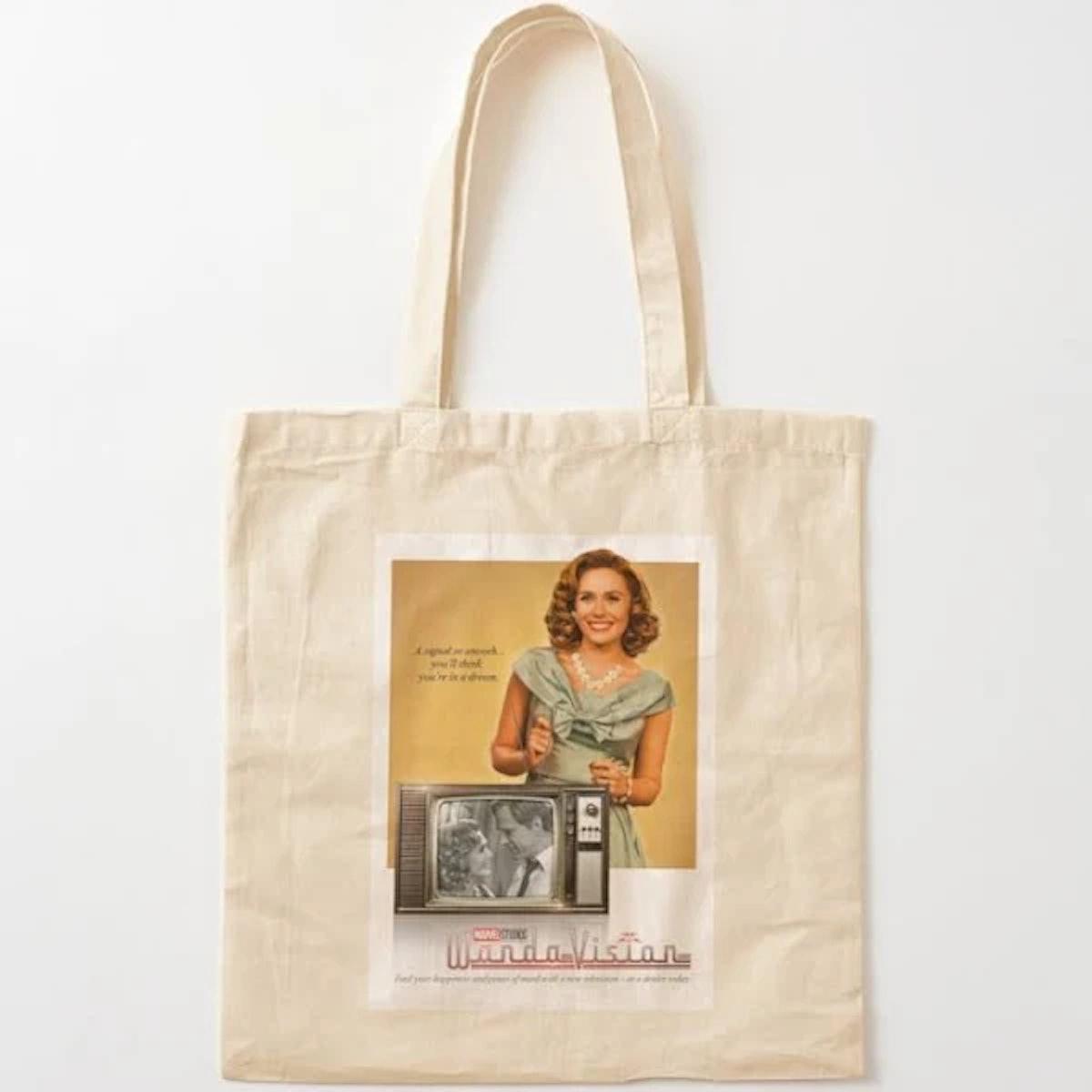Thebcarts WandaVision Wanda Tote Bag