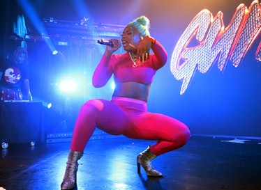 Megan Thee Stallion performs at Irving Plaza