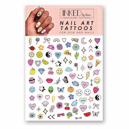 inked by dani nail art tattoo packaging