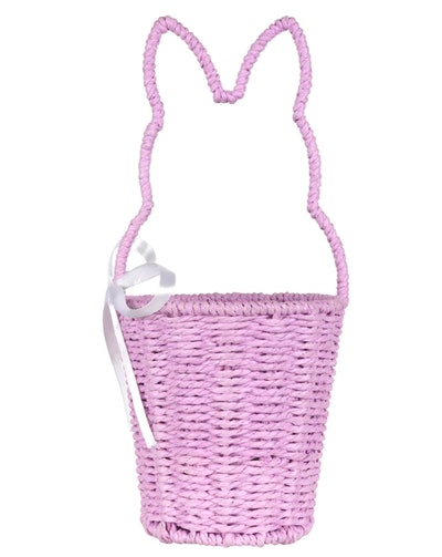 Purple Bunny Handle Rope Easter Basket by Ashland®