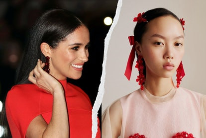 Simone Rocha X H&M Has A Great Dupe Of Meghan Markle & Kate Middleton's Go-To Earrings