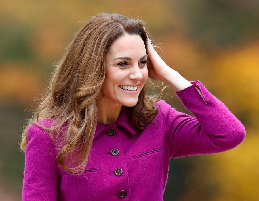 Catherine, Duchess of Cambridge arrives to open 'The Nook' Children's Hospice on November 15, 2019 in Framingham Earl, Norfolk. The Duchess of Cambridge is Royal Patron of 'EACH', East Anglia's Children's Hospices.