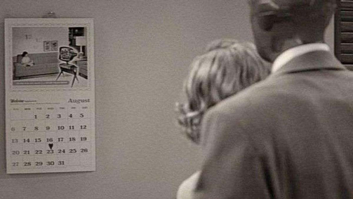 The Episode 1 calendar in WandaVision