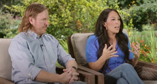 Chip and Joanna Gaines are chatting with Oprah Winfrey.