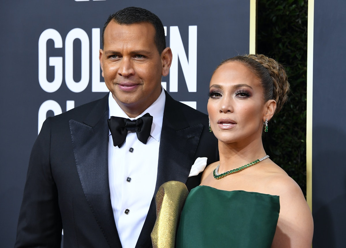ARod and JLo at the Golden Globes