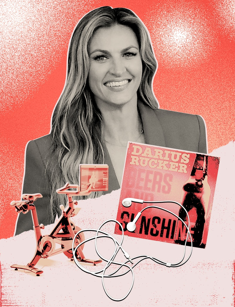 Erin Andrews reflects on 2020, Peloton, and podcasts.