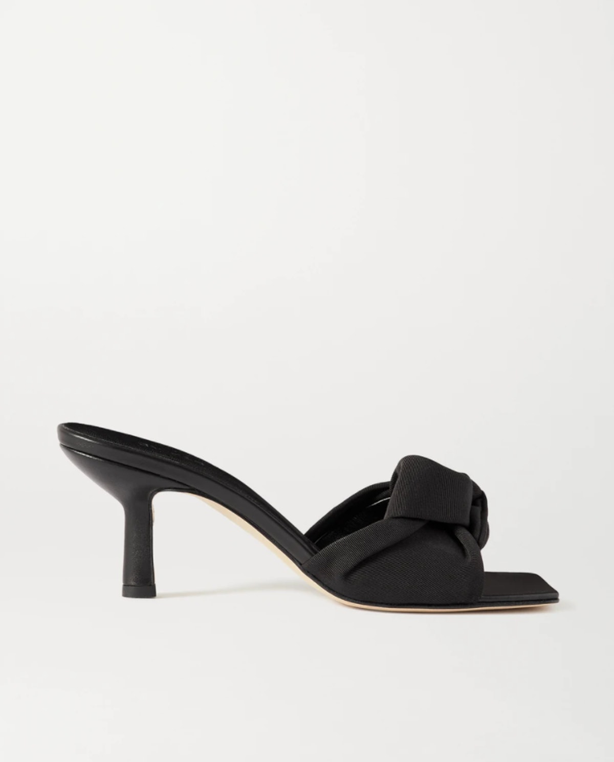 Lana Knotted Grosgrain Mules