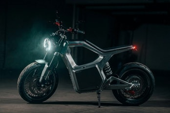 The Sondors Metacycle is a $5K electric motorcycle with 80 miles of range.