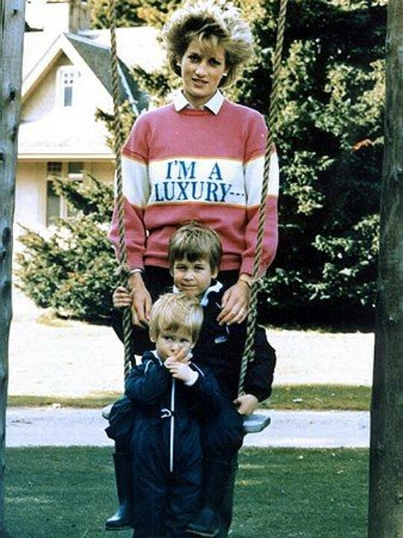 Prince Diana I'm a  LUXURY SWEATER