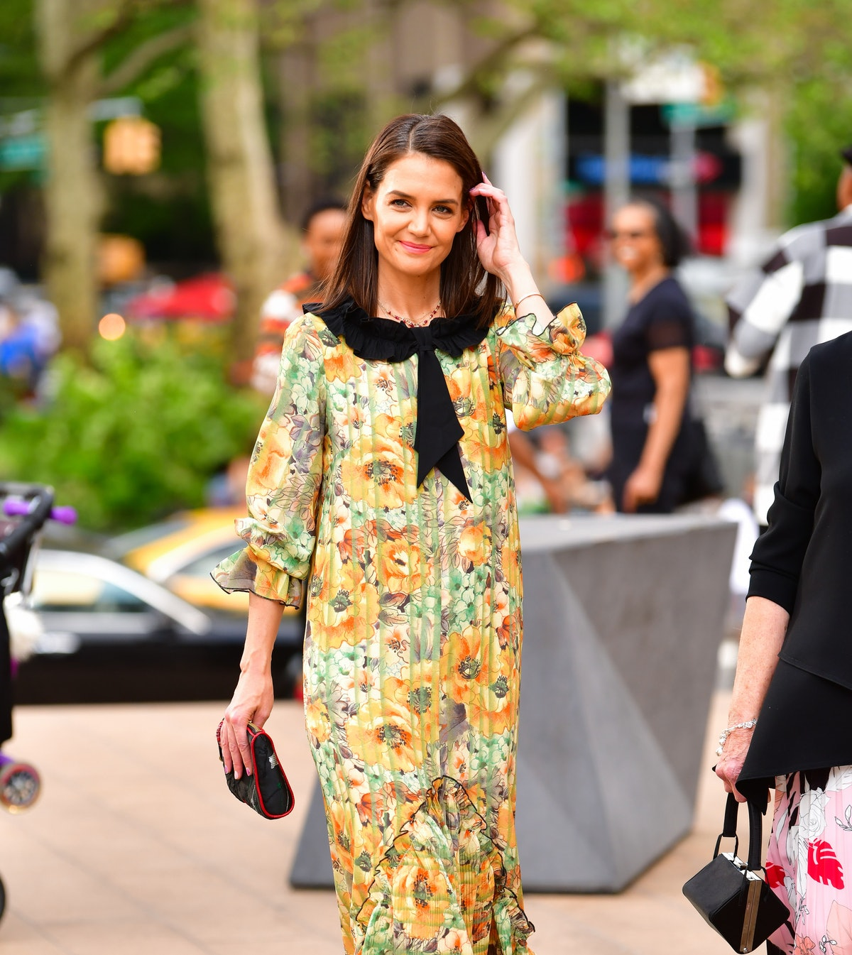 Katie Holmes arrives to the American Ballet Theatre 2019 Spring Gala at The Metropolitan Opera House...