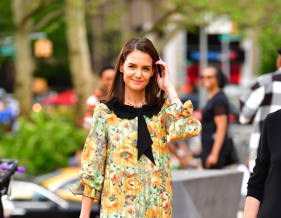 Katie Holmes arrives to the American Ballet Theatre 2019 Spring Gala at The Metropolitan Opera House on May 20, 2019 in New York City.