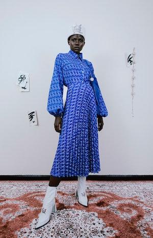 Thebe Magugu Fall/Winter 2021