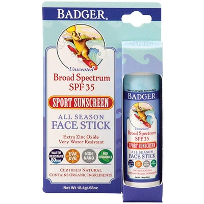 Badger Clear Zinc Sport Sunscree, SPF 35