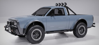 The Electric Wolf is an electric pickup truck unveiled by Alpha Motor. The company doesn't have any history and questions loom about its ability to create a car.