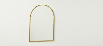 Archway Gold Wall Mirror