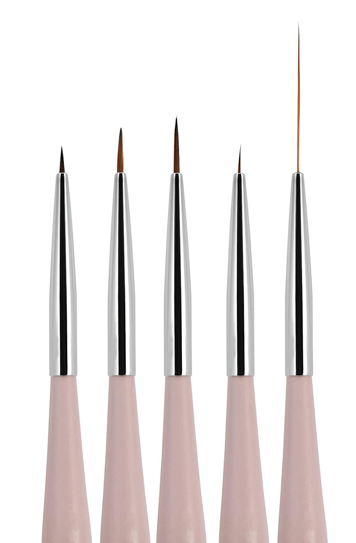5 Pieces Nail Art Brush Set