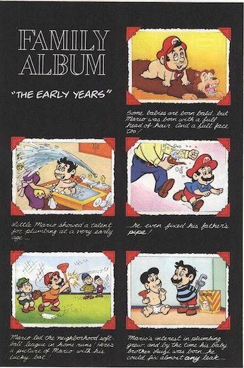 Nintendo The early Years Mario Family Album Miyamoto