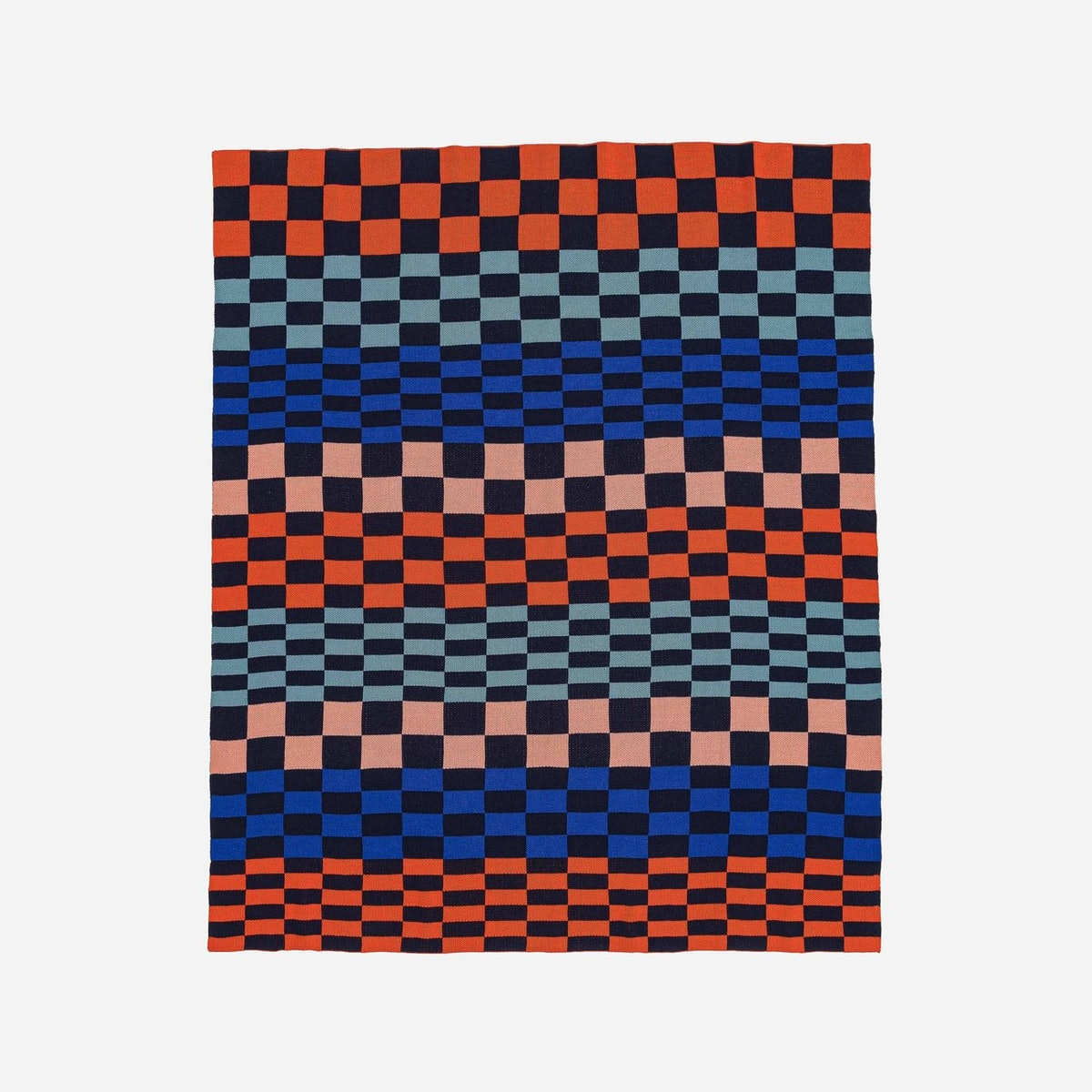 Albers Checkerboard Throw