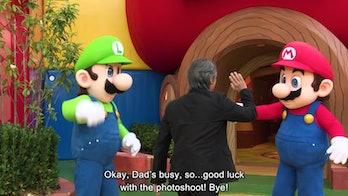 Mario's Dad Nintendo Miyamoto