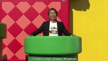 Nintendo Marios Dad Miyamota
