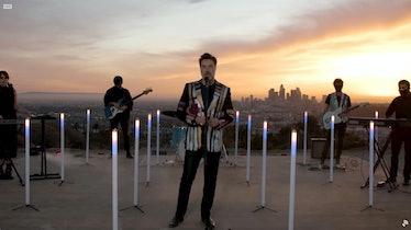 Rufus Wainwright at the Grammys