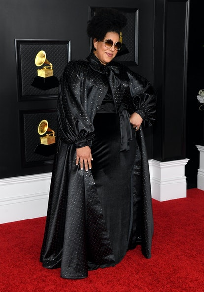 In this image released on March 14, Brittany Howard attends the 63rd Annual GRAMMY Awards at Los Angeles Convention Center in Los Angeles, California and broadcast on March 14, 2021.