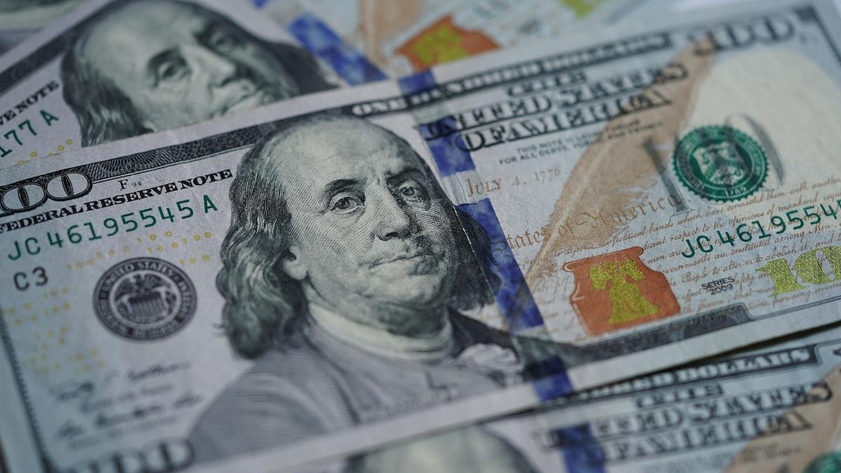 A $100 bill.