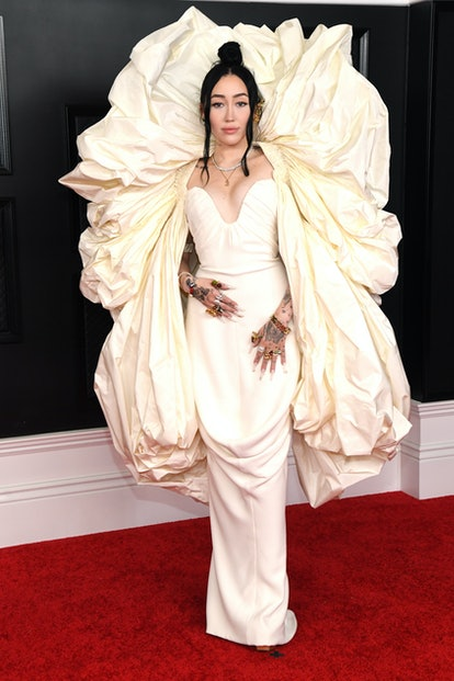 Noah Cyrus attends the 63rd Annual GRAMMY Awards at Los Angeles Convention Center on March 14, 2021 in Los Angeles, California.