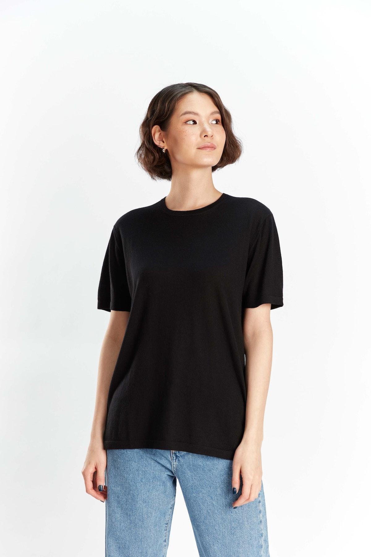 Cashmere Silk T-Shirt