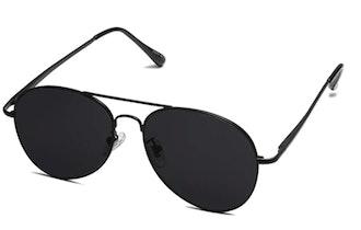 SOJOS Classic Aviator Mirrored Sunglasses