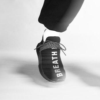 Pharrell Adidas Hu NMD Triple Black