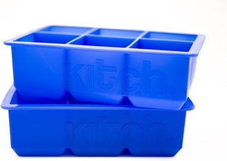 Kitch Large Cube Silicone Ice Tray (2-Pack)