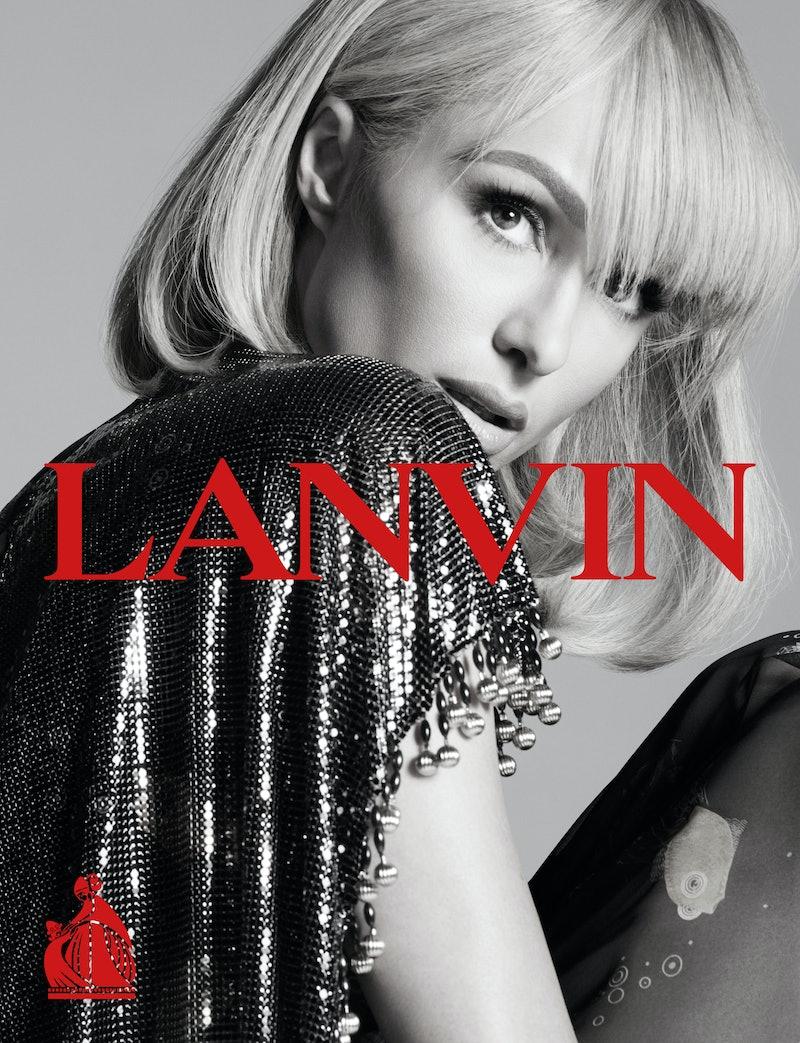 Paris Hilton in the new LANVIN campaign.