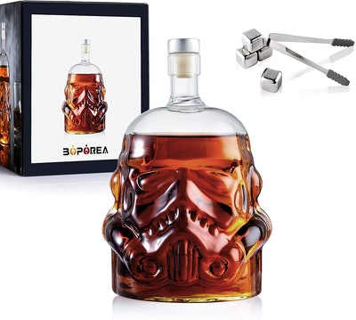 Transparent Creative Whiskey Decanter Set (6 Pieces)