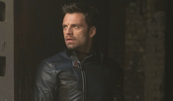 Sebastian Stan as Bucky Barnes in The Falcon and the Winter Soldier