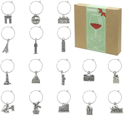 ZOSCO Wine Glass Charms (Set Of 16)