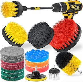 Holikme Drill Brush Attachments Set (20 Pieces)