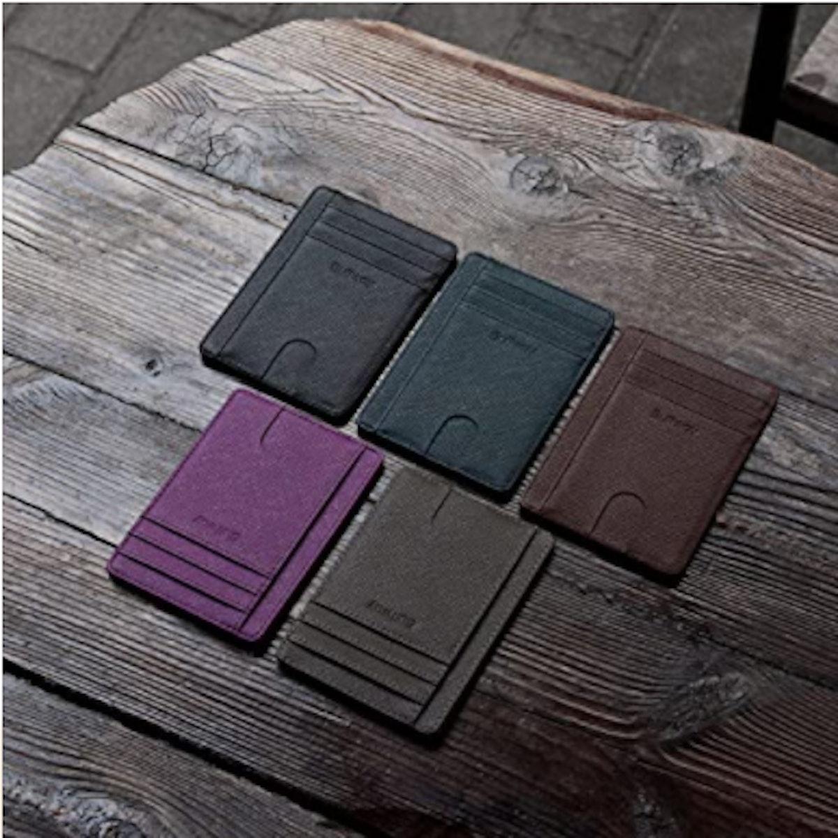 Buffway Slim Minimalist RFID Blocking Wallet
