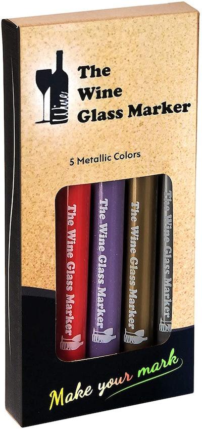 The Wine Glass Maker The Original Wine Glass Markers