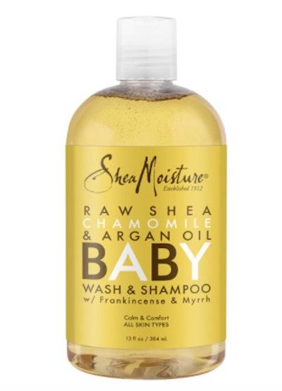 SheaMoisture Raw Shea, Chamomile & Argan Oil Baby Wash & Shampoo