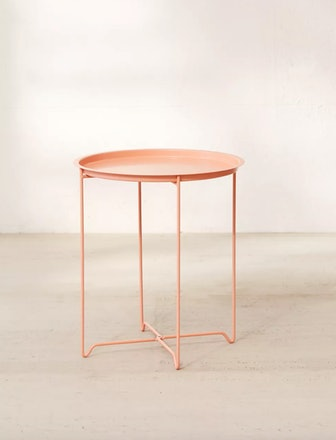 Metal Folding Side Table