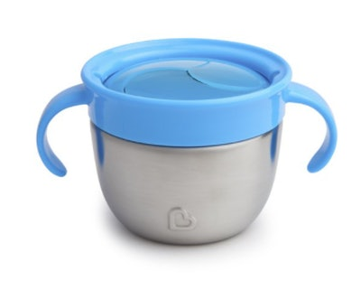 Munchkin Snack Catcher Stainless Steel Snack Cup